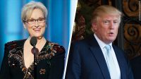 Meryl Streep aux Golden Globe Awards : le mur des people dressé contre Trump