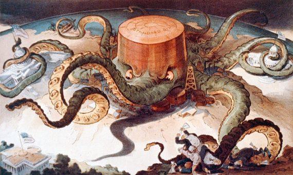 Rockefeller Exxon pétrole réchauffement climat origine humaine