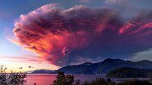 L'éruption du volcan Calbuco au Chili.