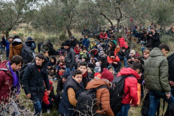 Trois fois plus migrants Turquie UE