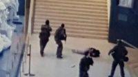 La photo de l'attaque prise par une guide qui accompagnait un groupe de touristes chinois.