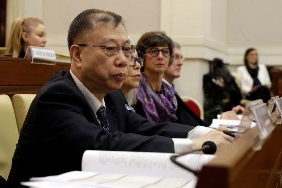 Chine trafic organes sommet Vatican haut responsable santé