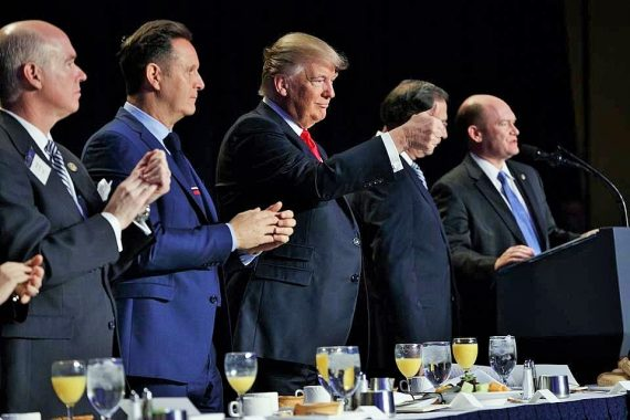 Défense liberté religieuse Trump suppression amendement Johnson