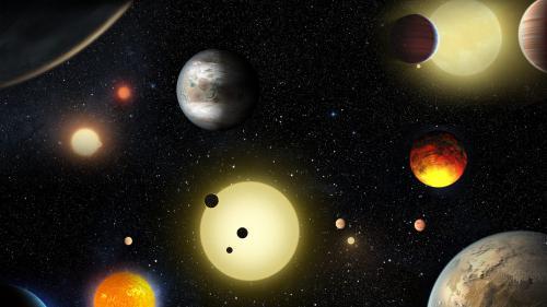 Exoplanètes Télescope Belge Trappist Découverte Vie Homme Seuls Univers