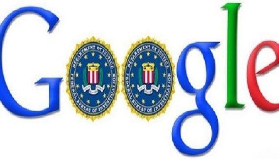 Google FBI archives e mails conservés étranger