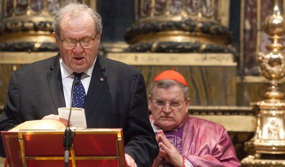 Ordre Malte cardinal Burke délégué François