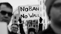 Le décret US limitant l'immigration en justice: 21 avril mondialiste dans le monde contre Trump
