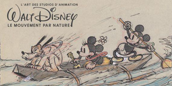 Walt Disney mouvement nature art dessin animé exposition