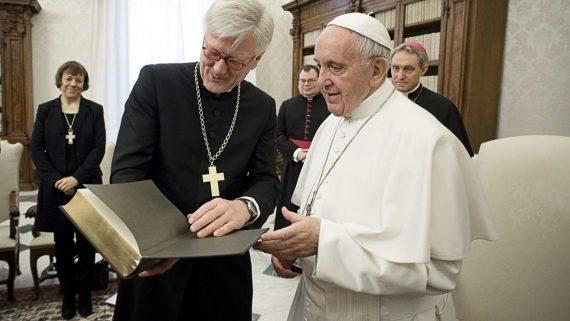 pape François luthériens Allemagne héritage théologique spirituel