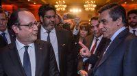 Cabinet noir et ligne rouge:Hollande fait la morale, Fillon accusé de complotisme