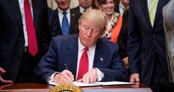 Démantèlement loi eau Trump étatisation environnement