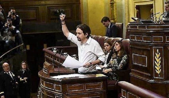 Espagne Podemos messe télévisée dimanche