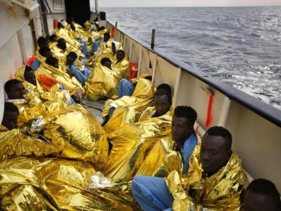 Frontex ONG migrants Soros Italie