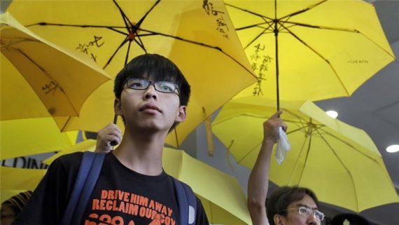 Joshua Wong Hong Kong démocratie