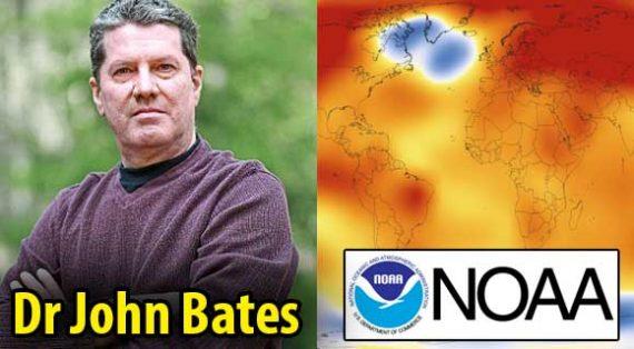 NOAA Manipulation Réchauffement températures