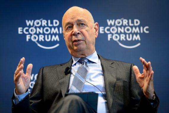 Nouveau discours mondialisation Forum économique mondial Davos klaus schwab