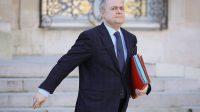 Bruno Le Roux a annoncé lui-même sa démission à la presse, hier à 18 heures.