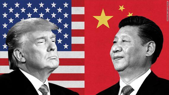 Trump Chine mondialistes bras fer