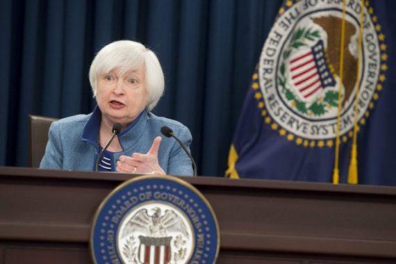 accélération Hausse taux intérêt Fed Janet Yellen