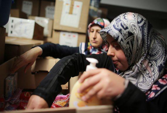 musulmans Allemagne aide réfugiés chrétiens