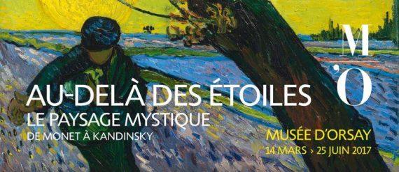 étoiles paysage mystique Monet Kandinsky Peinture Exposition