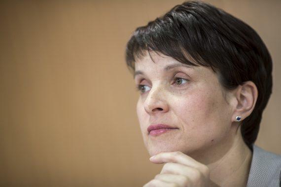 AfD Alternative Allemagne Frauke Petry renonce candidat législatives