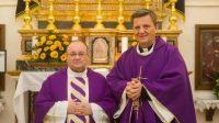 L'archevêque Charles J. Scicluna et l'évêque Mario Grech.