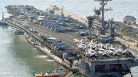 Le ton monte face aux Etats-Unis: la Corée du Nord menace le porte-avions USS Carl Vinson