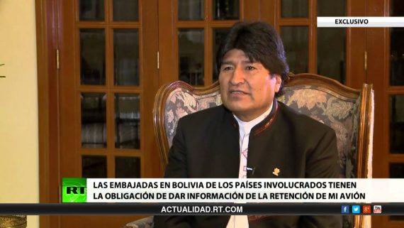 Evo Morales président indigéniste Bolivie rt com