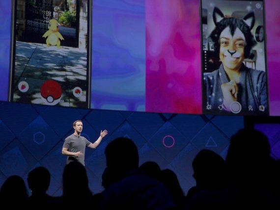 Facebook réalité augmentée publicité