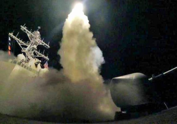 Fausse attaque gaz sarin Syrie riposte Donald Trump