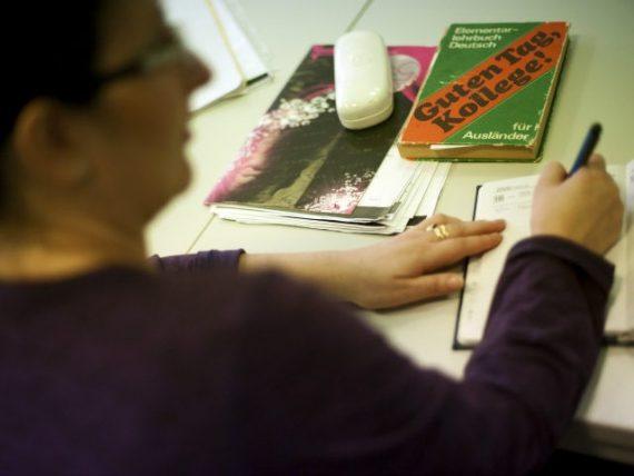 Gabegie cours langue formations prodigués demandeurs asile Allemagne
