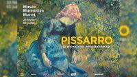 Camille Pissarro, le premier des impressionniste du 23 février au 2 juillet 2017 au  musée Marmottan-Monet.