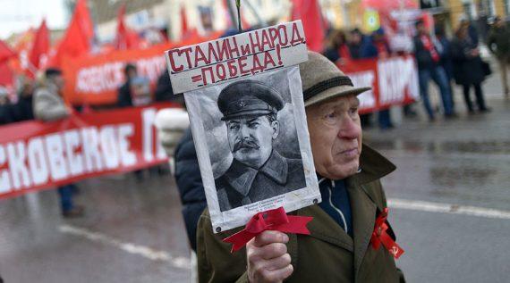 Staline popularité grandissante Russie