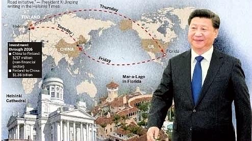 Xi Jinping intégrer Finlande Nouvelle Route Soie