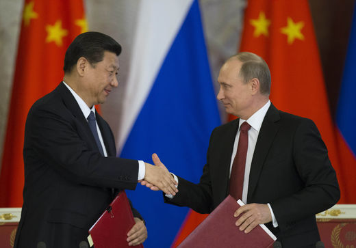 liens Chine Russie ordre mondial multipolaire