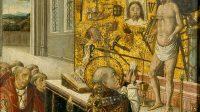La Messe de saint Grégoire(Anonyme, Flandres, fin XVe siècle)