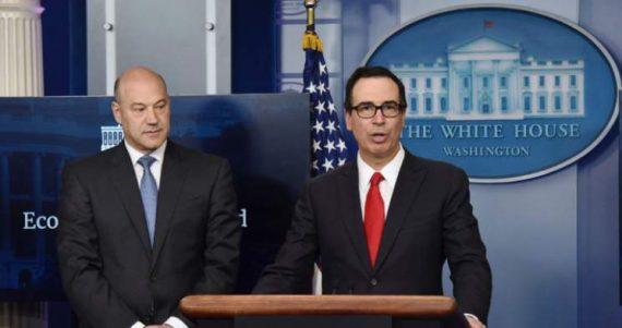réforme fiscale Trump Etats Unis ballon essai