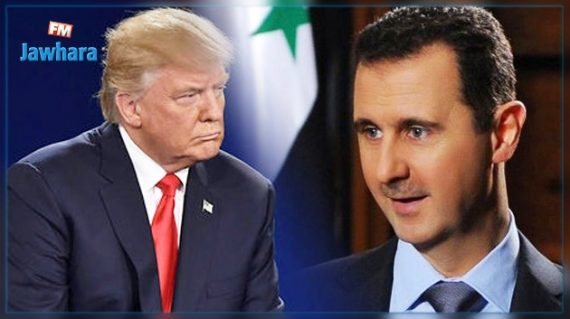 sarin Syrie Trump Médias Bachar El Assad Attaque Bashing