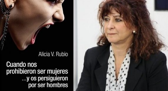 Alicia Rubio professeur virée livre critique idéologie genre Podemos