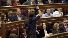 Pablo Iglesias Turrión, secrétaire général de Podemos
