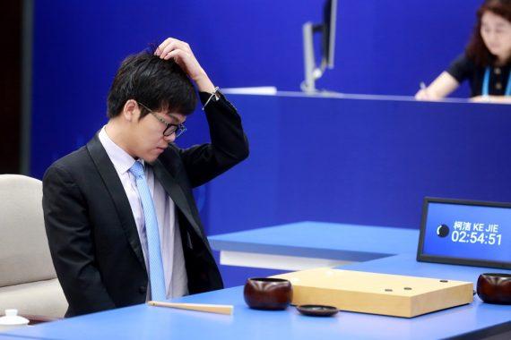 Go Google Chine AlphaGo Jei champion intelligence artificielle