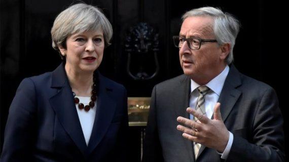 May Juncker Galaxie Pédagogie Brexit Impossible
