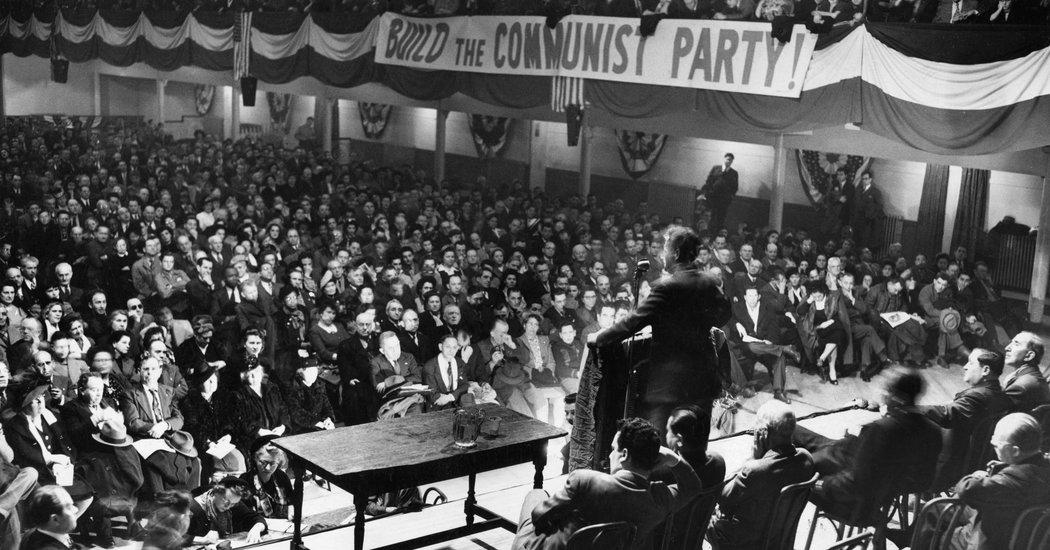 """Quand le """"New York Times"""" célèbre les communistes américains"""