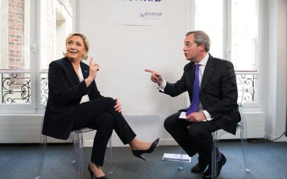 Nigel Farage soutient Marine Le Pen élection 2022