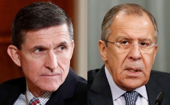 Trump Lavrov impeachment Flynn Comey