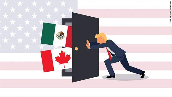 Trump retournement ALENA Union nord américaine globalisme NAFTA