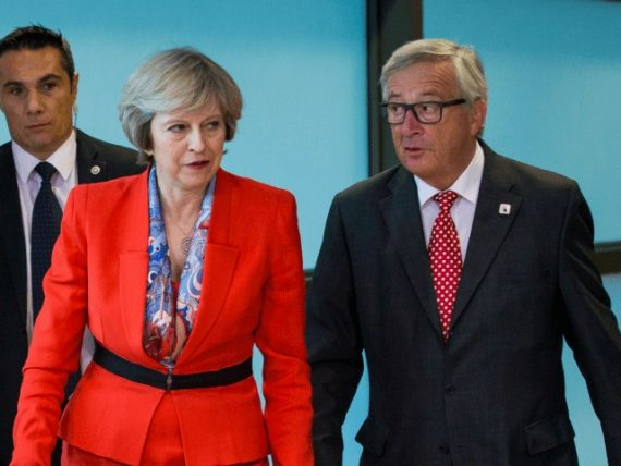 UE Brexit 100 milliards Theresa May