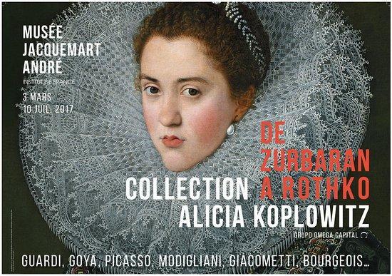 Zurbaran Rothko collection Alicia Koplowitz Peinture Exposition
