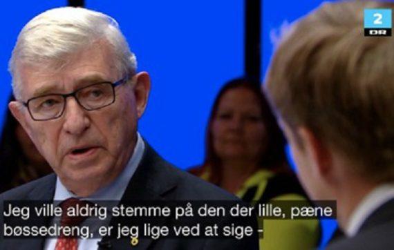 gentil petit garçon gay Macron Sören Krarup parlementaire danois phrase